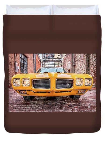 Gto - Pontiac Muscle Duvet Cover