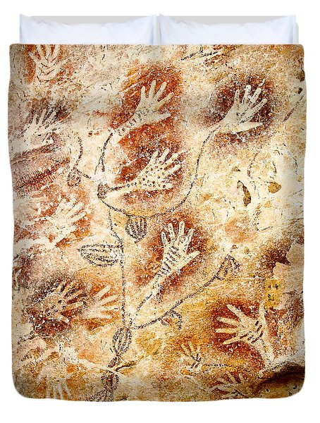 Gua Tewet - Tree Of Life Duvet Cover