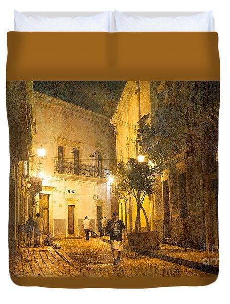 Guanajuato Night Duvet Cover