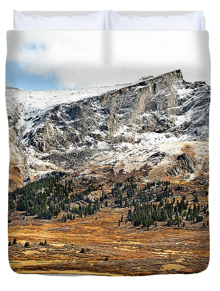 Guanella Pass Colorado Duvet Cover by Beth Riser