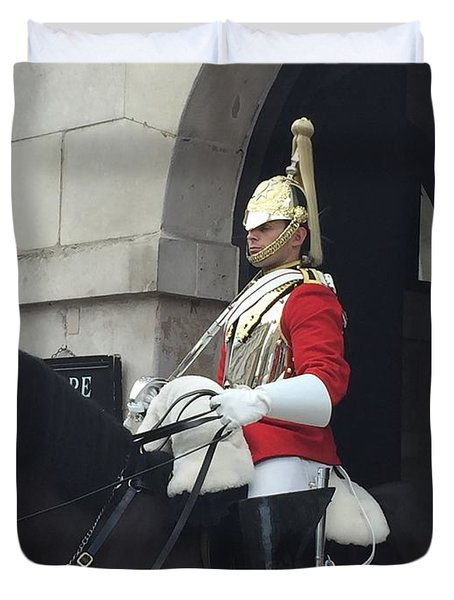 Guard London  Duvet Cover