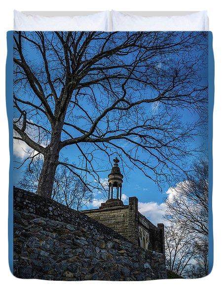 Guarded Summit Memorial Duvet Cover
