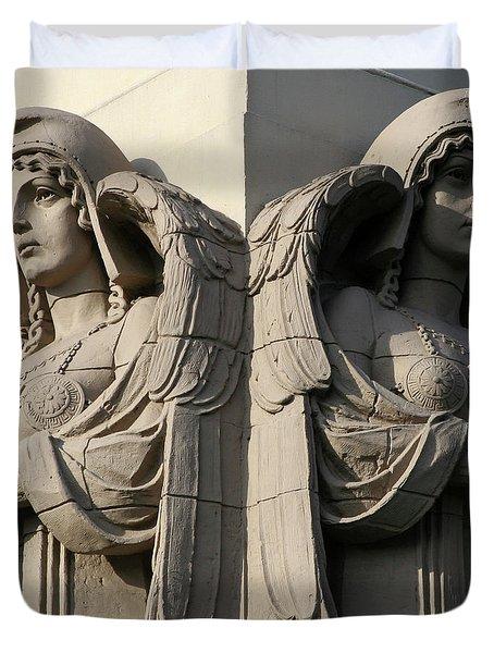 Guardian Angels Duvet Cover