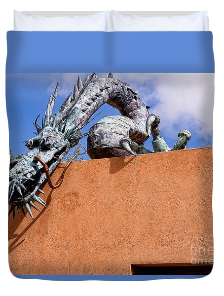 Santa Fe Guardian Dragon Duvet Cover