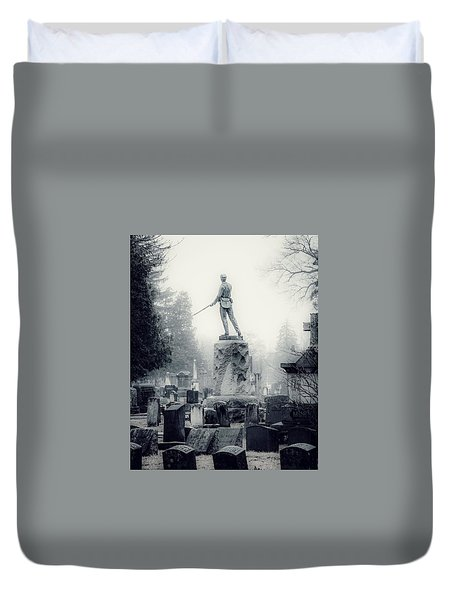 Duvet Cover featuring the photograph Guardian by Kendall McKernon