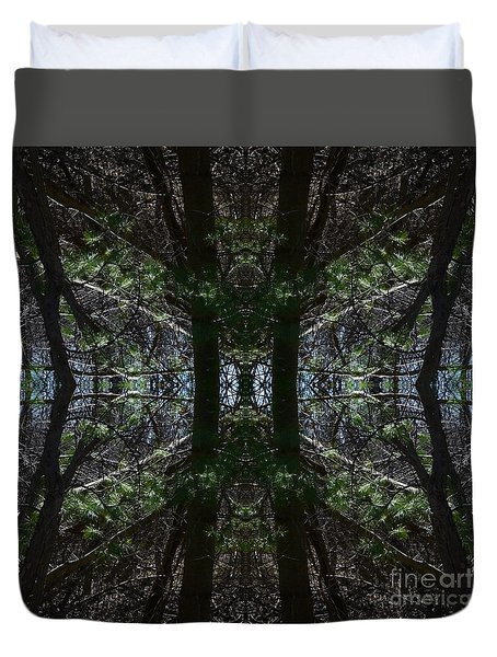 Guards Of The Forest Duvet Cover