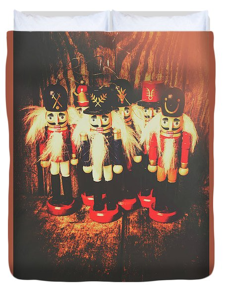 Guards Of The Toy Box Duvet Cover