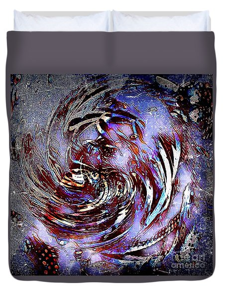 Guess Who Abstract Duvet Cover