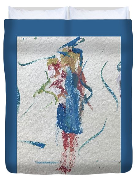 Guest 13 Duvet Cover by Carol Berning