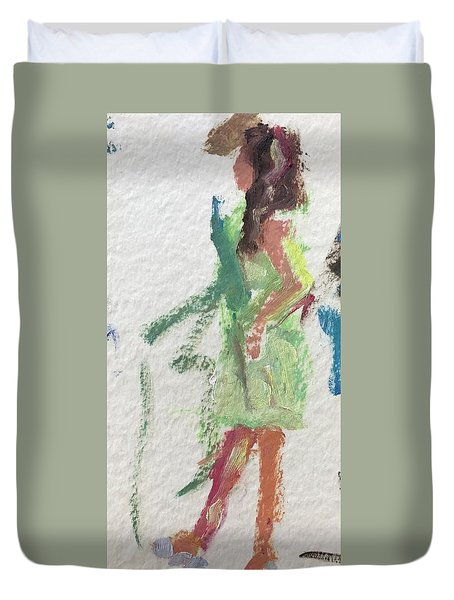 Guest 6 Duvet Cover by Carol Berning
