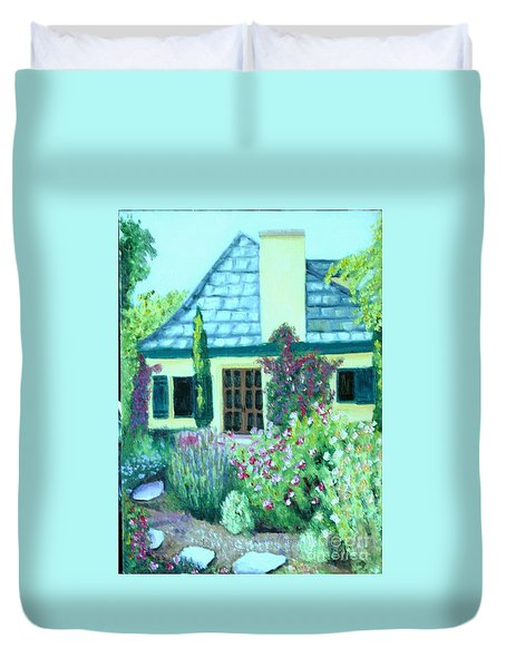 Guest Cottage Duvet Cover