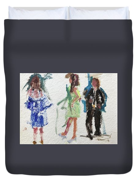 Guests 11 Duvet Cover