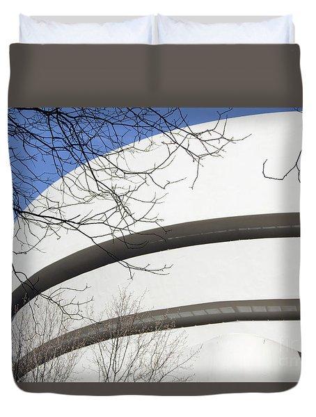 Guggenhiem Color II Duvet Cover
