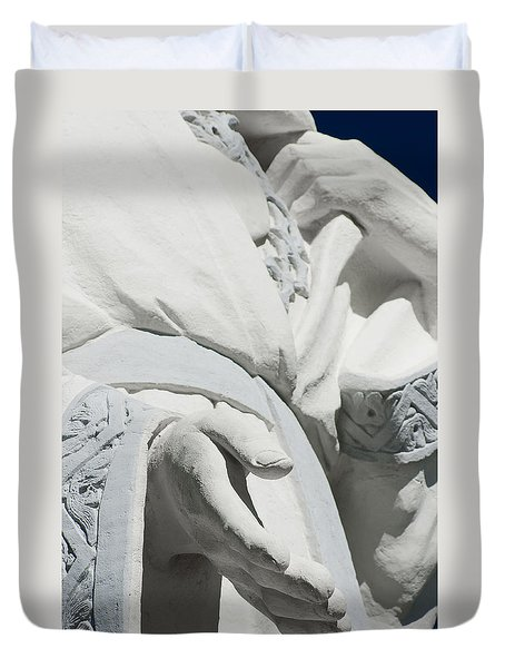 Duvet Cover featuring the photograph Guidance by Colleen Coccia