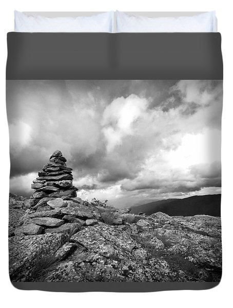 Guide In The Clouds Duvet Cover
