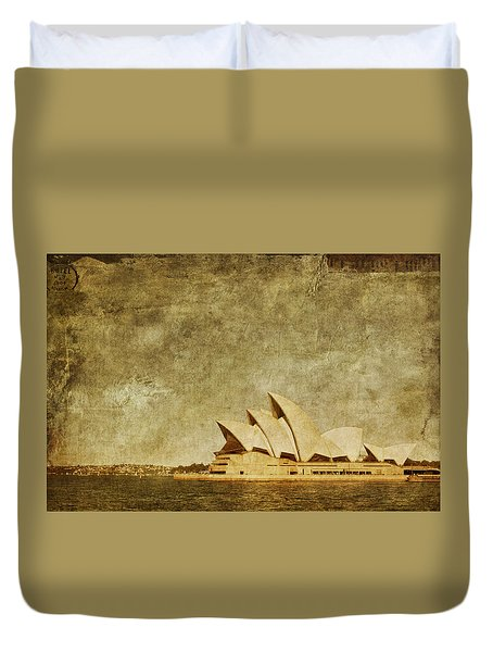 Guided Tour Duvet Cover by Andrew Paranavitana