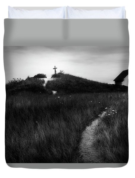 Duvet Cover featuring the photograph Guiding Light by Bill Wakeley