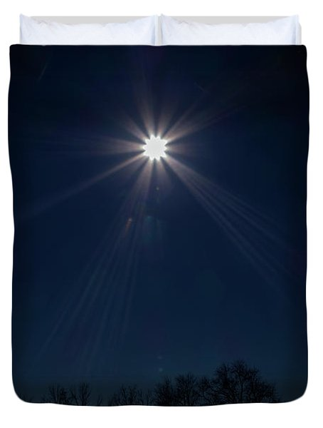 Guiding Light Duvet Cover