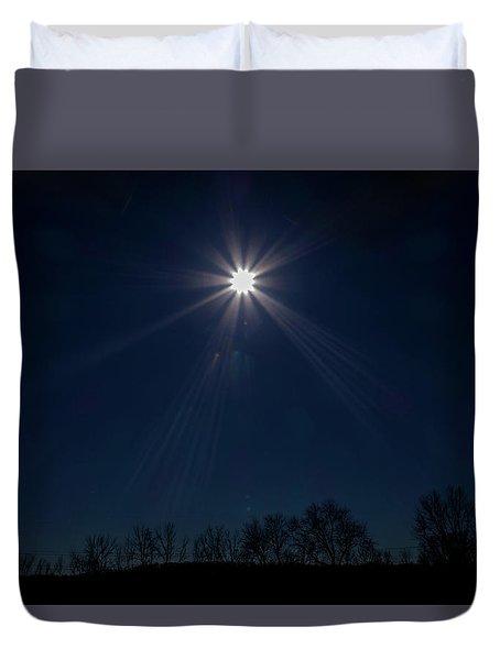 Guiding Light Duvet Cover