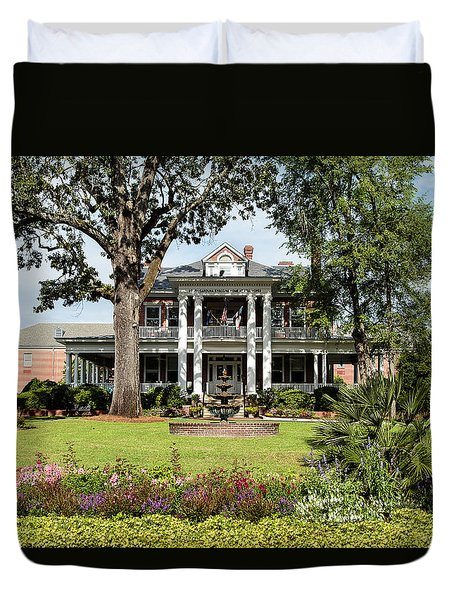 Guignard Mansion Duvet Cover