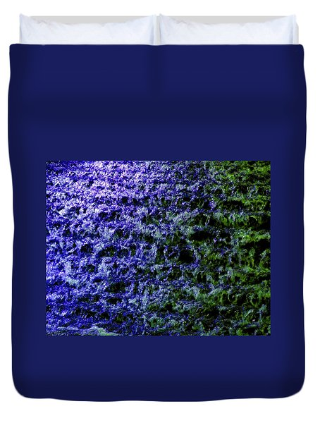 Duvet Cover featuring the photograph Guildford Waterfall by Will Borden