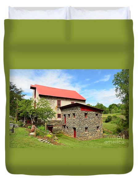 Guilford Grist Mill - 2 Duvet Cover