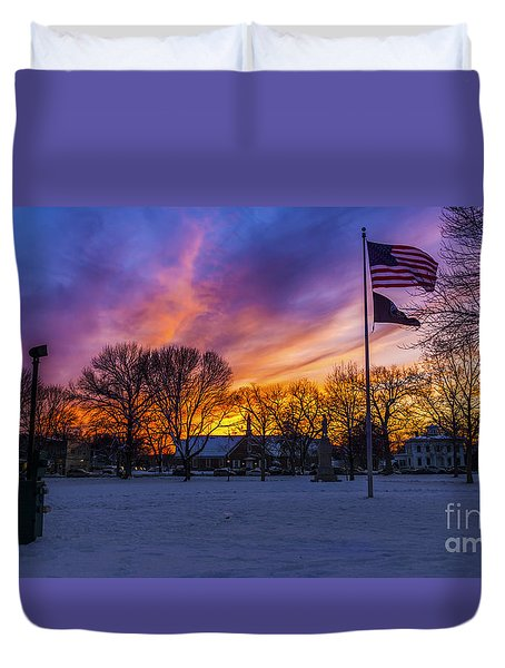 Guilford, Connecticut. Duvet Cover