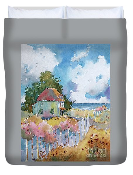 Gulf Coast Cottage Duvet Cover