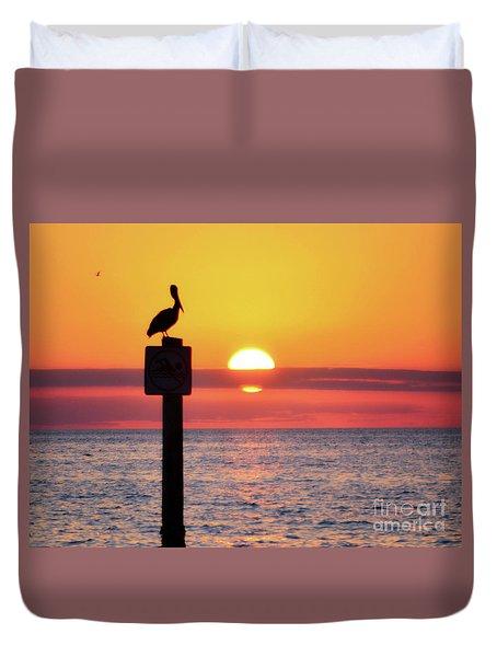 Gulf Coast Enchantment Duvet Cover