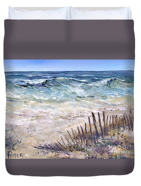 Gulf Coast Perdido Key Duvet Cover