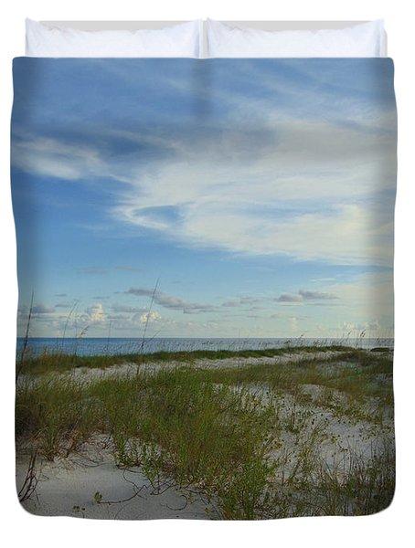 Gulf Islands National Seashore Duvet Cover