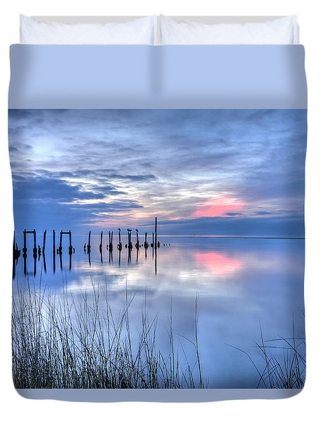 Gulf Reflections Duvet Cover