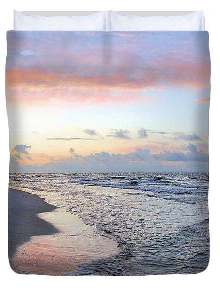 Gulf Shore Duvet Cover by Kristin Elmquist