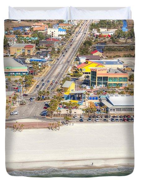 Gulf Shores - Hwy 59 Duvet Cover