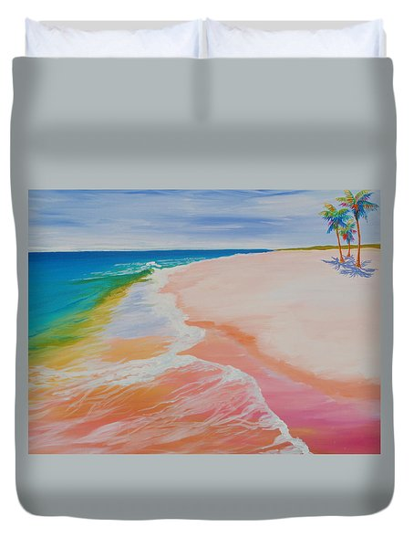 Gulf Side Duvet Cover