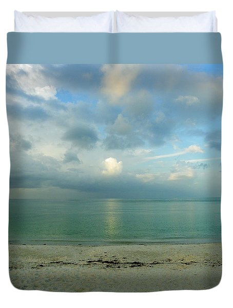 Gulf Storm Duvet Cover