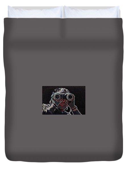 Gulf War Duvet Cover