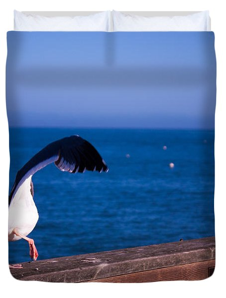 Gull Dance Duvet Cover