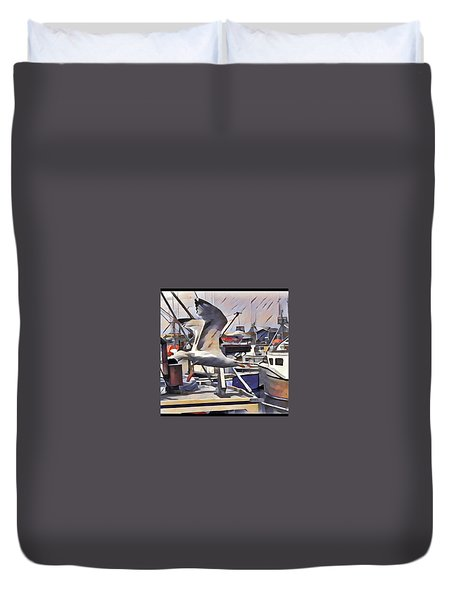 Gull Duvet Cover