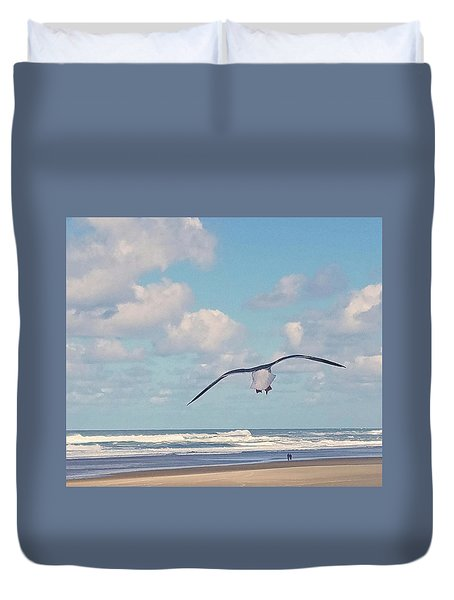 Gull Getaway Duvet Cover