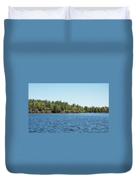 Gull Lake Duvet Cover