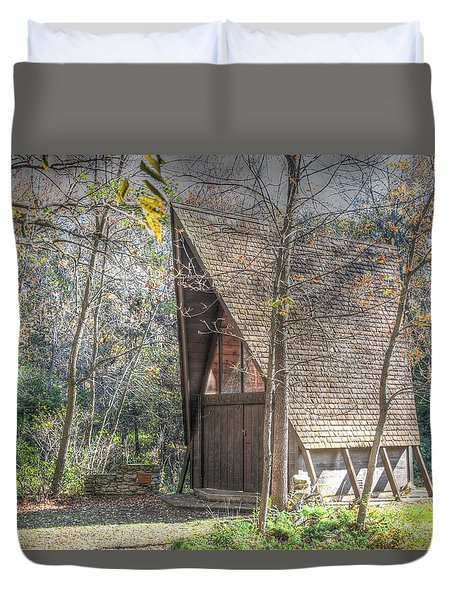 Gull Point Chapel Duvet Cover