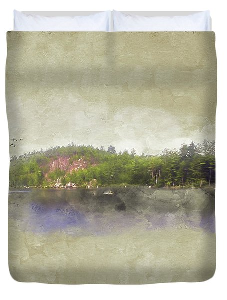 Gull Pond Duvet Cover