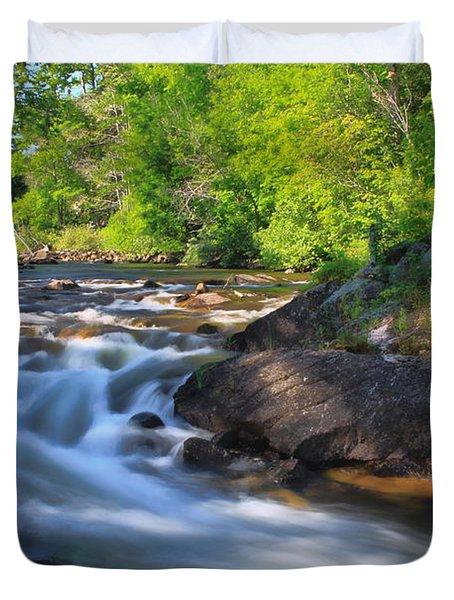 Gull River Falls - Gunflint Trail Minnesota Duvet Cover