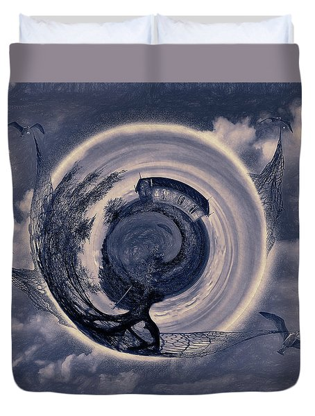 Gull World Movers  Duvet Cover