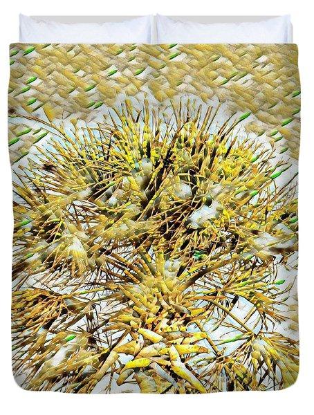 Gullah Palm Duvet Cover