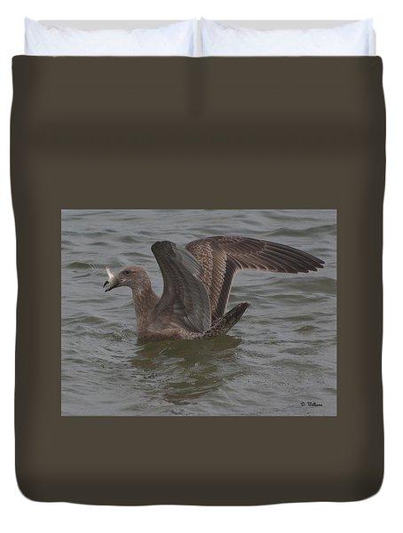 Gull's Catch Duvet Cover