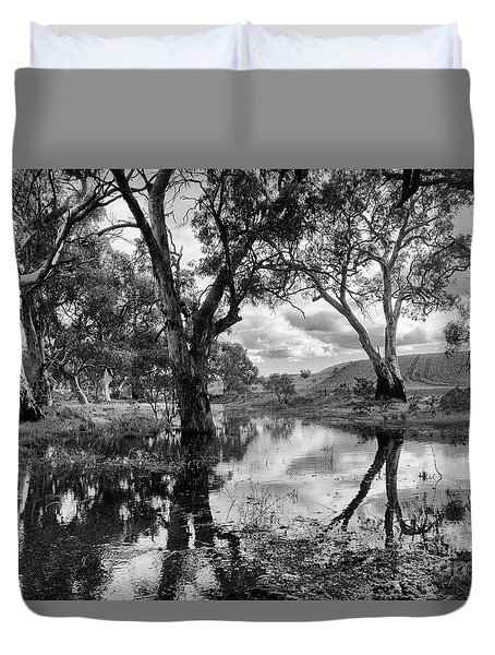 Gum Creek Duvet Cover by Douglas Barnard