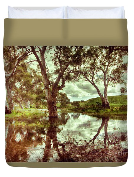 Gum Creek V2 Duvet Cover by Douglas Barnard