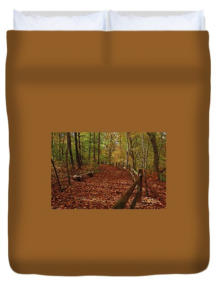 Gunpowder Falls Park Duvet Cover